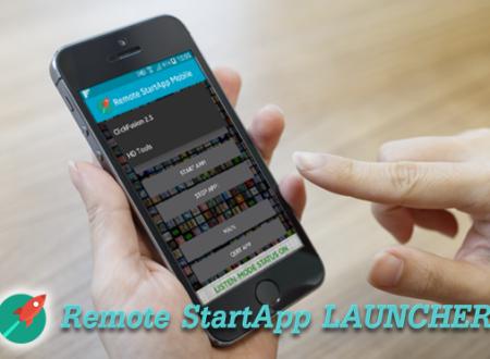 Remote StartApp Launcher